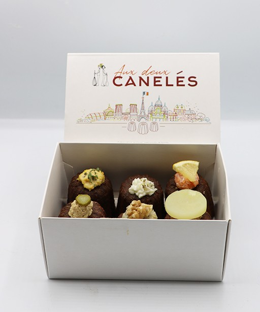 DIALING BOX OF 6 CANELES
