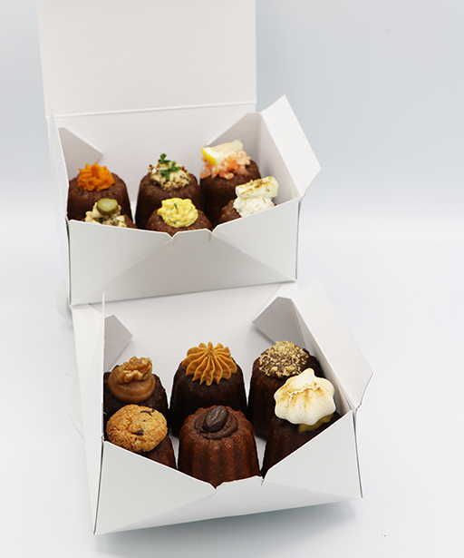 DIALING BOX OF 12 CANELES